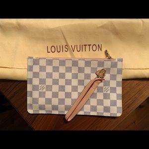 Louis Vuitton zipper clutch